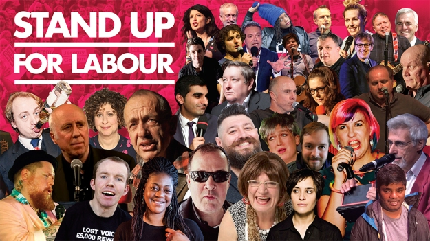 Stand up for Labour GDPR collage